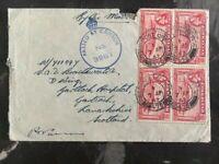 1942 Gibraltar Censored Cover To Lanark Scotland