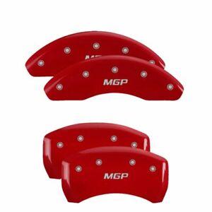 MGP Caliper Brake Covers for Saturn 07-06 Aura Red Paint 19005SMGPRD