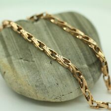 "LINK CHAIN IN 14K ROSE GOLD 21"" 24.2GRS"