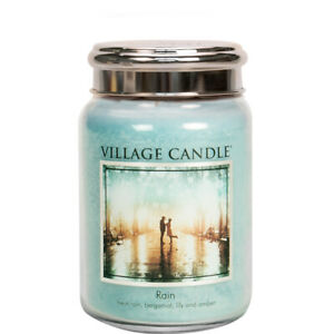 Village Candle Double Wick Large Candle Jar - Rain **SPECIAL OFFER**