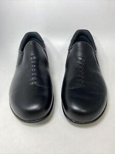 NEW SAS Viva Black Leather Comfort Casual Slip On Loafer Shoes Women's 10 M USA