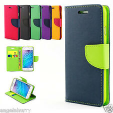 Galaxy J1 / ACE J2 / 2016 / J3 Mini Case, Flip Leather Wallet Cover For Samsung