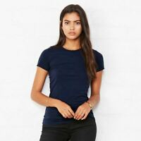 Bella & Canvas Womens Plain Crew Neck Short Sleeve The Favourite T-Shirt Top Tee