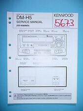 Service Manual-Anleitung für Kenwood DM-H5 ,ORIGINAL