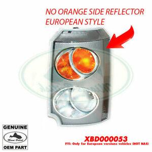 LAND ROVER FRONT PARKING SIDE LAMP TURN LIGHT LH LEFT RANGE XBD000053 OEM