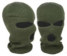 BALACLAVA OLIVE GREEN MASK WINTER SAS STYLE ARMY SKI KNITTED NECK WARMER AIRSOFT