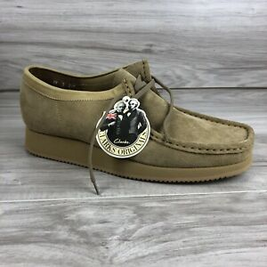 NEW! Men's Clarks Wallabee Hike Size Is 11 US Or 10 UK M Sand Suede Vibram