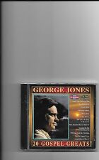 "GEORGE JONES, CD ""20 GOSPEL GREATS"" NEW SEALED"