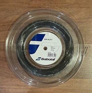 Babolat RPM Blast 17 Mini Reel (1.25mm Tennis String) Full 100m/330ft Unused New