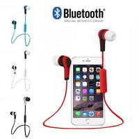 Nuevo Bluetooth Wireless internos Auriculares Estéreo Impermeable Deporte Lote
