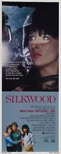 Silkwood 14x36 Insert Movie Poster Replica