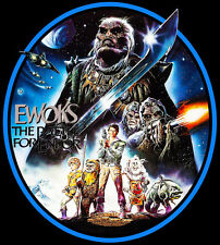 80's Star Wars TV Classic Ewoks: Battle For Endor custom tee Any Size Any Color