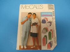 Vintage Sewing Pattern McCall's 9359, Uniform Essentials Misses/Mens, Sz Y, S755