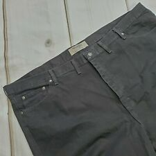 Wrangler Authentics Jeans Size 50 x 30 Mens Straight Leg Black