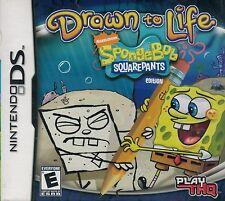 Drawn to Life Spongebob Squarepants Edition, Nintendo DS game, Used