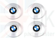 BMW 7 SERIES E65 NEW GENUINE ALLOY WHEEL HUB CENTER CAPS SET OF FOUR STYLE 175
