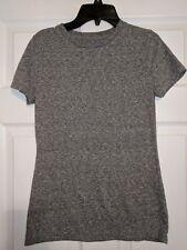Mossimo Women's Gray Heather T-shirt size XS Crew Neck