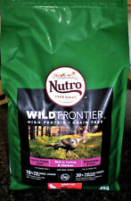 NUTRO 'WILD FRONTIER' DRY CAT FOOD, RICH IN TURKEY & CHICKEN, GRAIN FREE
