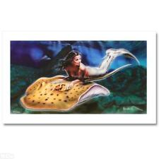 """Noah """"Learning To Fly"""" Limited Edition Hand Signed Giclee on Canvas. COA. New"""