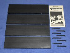 Rummikub 1980 Pressman Rummy Tile Game ~ Replacement Tile Racks Set + Book Lot