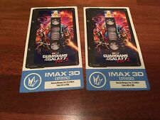TWO GUARDIANS OF THE GALAXY 2 IMAX Premiere Collectors Tickets LIMITED #/1000