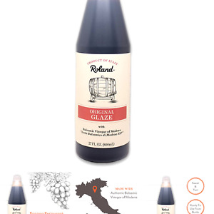 Roland Foods Balsamic Vinegar Glaze of Modena, 27 Ounce 27 Fl Oz (Pack of 1)