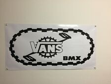 old school vans bmx Banner 4ft X 2ft vdc hutch gt se racing