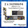 2 x 343S0694 - iPhone 6 / 6+ / 6 Plus Touch Controller Digitizer IC Chip - U2402