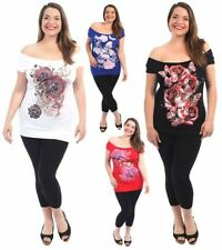 Butterfly Off-Shoulder Sleeve Tops & Blouses for Women