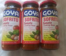 3X Goya Sofrito tomato 12 oz New (Pack of 3) Free shipping - Best Selling