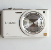 Panasonic Lumix DMC-SZ3 16 MP 720P White Digital Camera Battery Included