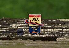 1992 USA Bobsled Team Kellogg's Olympics Metal & Enamel Lapel Pin Pinback