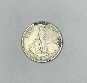 Philippines 1905 10 Centavos Silver