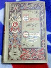 MARCOS OBREGON BEAUTIFUL ILLUST BY JOSE LUIS PELLICER  ULTRA RARE 1910