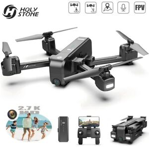 Holy Stone HS270 Foldable Drone 2.7K HD Selfie Camera GPS FPV RC Quadcopter