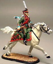 Painted Tin Toy Soldier Trumpeter Cavalryman of the Pavlogradsky Regiment 54mm