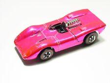 Vintage Hot Pink Ferrari 312P Redline Hotwheel Diecast Car CC1