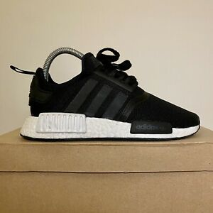 Women's Adidas NMD In Black And White Size UK 4