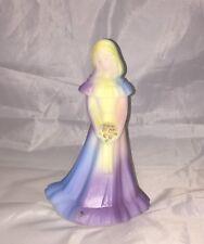Fenton Tie Dye Carolyn's Collectibles Bridesmaid Figurine
