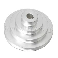 Aluminum 4 Step A Type Timing Belt Pulley for Machine Motor Shaft Drive