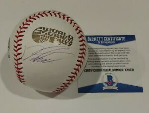 Daisuke Matsuzaka Red Sox Signed Autographed 2007 World Series Baseball BECKETT