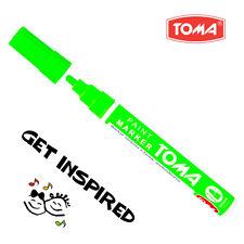 NEON Verde permanente a base di olio penna per vernice auto bici gomma metallo Marker IMPERMEABILE