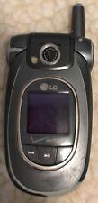 LG VX8300 - Black (Verizon) Cellular Phone Fast Shipping Fair Used Flip