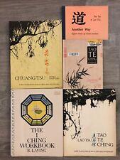 Tao Te Ching 5 Book Lot Workbook Chuang Tsu Journal