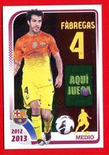 FC BARCELONA 2012-2013 Panini - Figurina-Sticker n. 126 - FABREGAS -New