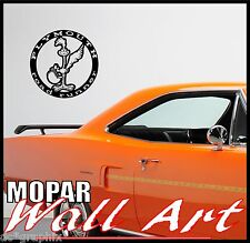 PLYMOUTH ROAD RUNNER ABSTRACT WALL ART GRAPHIC VINYL STICKER