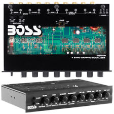 Boss EQ1208 4 Band Pre-amp Equalizer with Subwoofer Output