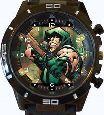 Green Arrow Comic Style New Gt Series Sports Unisex Gift Watch