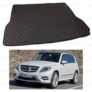 PU Leather Car Trunk Mat Cargo Pad Carpet for Mercedes-Benz GLK-Class 2008-2015