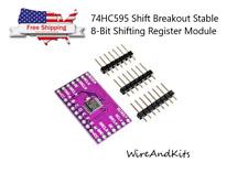 2 x Cjmcu-595 Sn74Hc595 Shift Breakout Stable 8-Bit Shifting Register Module T2